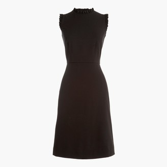 J.Crew Ruffleneck sheath dress