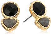 Jessica Simpson Double Stone Stud Earrings