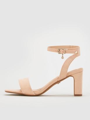 Office Makeover Heeled Sandals - Pink