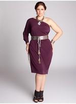 IGIGI Kaori Plus Size Infinity Dress in Plum