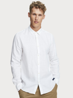 Scotch & Soda Linen Shirt Regular fit | Men