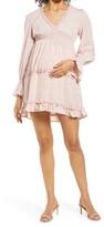 Thumbnail for your product : Savi Mom Venice Long Sleeve Maternity Dress