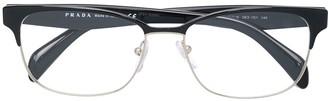 Prada Rectangular Frame Glasses
