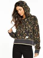 Converse Essentials Cropped Pullover Hoodie - Star Camo