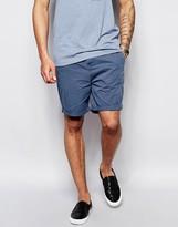Asos Slim Chino Shorts In Mid Length