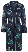 George Butterfly Print Kimono Dressing Gown