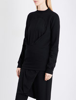 Drkshdw Oversized cotton-jersey sweatshirt