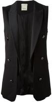 open front waistcoat