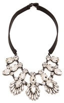 Noir Nightfall Leather Bib Necklace