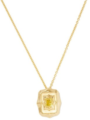 Jade Trau - Vanguard Radiant Diamond & 18kt Gold Necklace - Yellow Gold