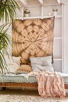 Urban Outfitters Graham Keegan Brown Shibori Tapestry