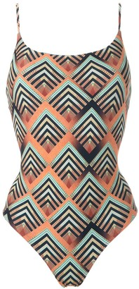 Lygia & Nanny Summit printed swimsuit