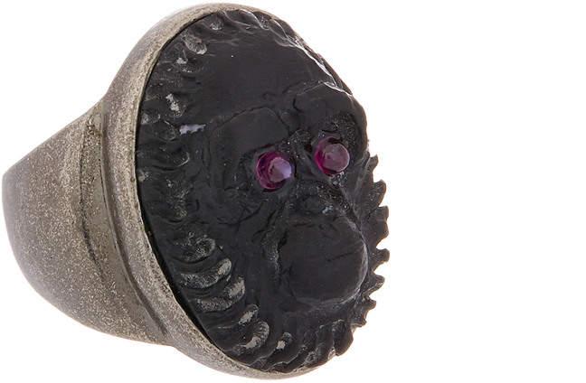 Valentino Carved Gorilla Ring