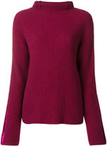 Haider Ackermann roll neck knit sweater