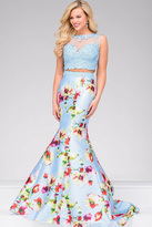Jovani Two Piece Mermaid Dress 49989