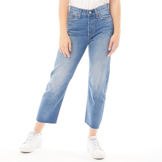 Levi's Womens Wedgie Straight Jeans Partner In Crime Without Destruction