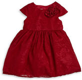 Marmellata Baby Girls Lace Party Dress and Bloomers Set