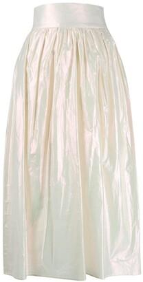 Christopher Kane iridescent skirt