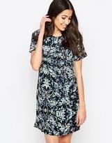 Sugarhill Boutique Abigail Blurred Spot Tunic Dress