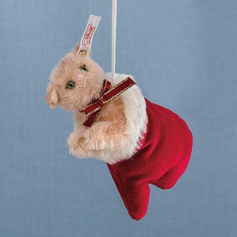 Steiff Kittens In Mittens Ornaments