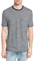 True Grit Men's Stripe Ringer T-Shirt