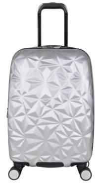 Aimee Kestenberg Luggage Geo Molded 20-Inch Carry-On Hard Shell Luggage