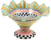 Mackenzie Childs MacKenzie-Childs Taylor Fluted Rim Compote -