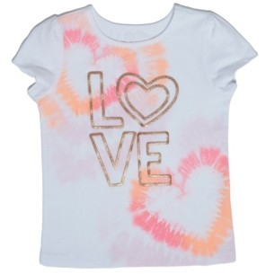 Epic Threads Little Girls Tie Dye Love T-shirt