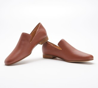 Clarks Leather or Haircalf Slip-On Loafers - Pure Viola