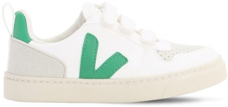 Veja Leather Strap Sneakers