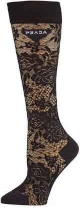 Prada Scotland Lace Socks