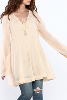 Free People Lini Smocked Tunic