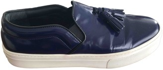 Celine Blue Patent leather Trainers
