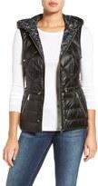 Bernardo Women's Reversible Hooded Down & Primaloft Fill Vest