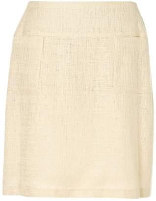 Chanel Ecru Cotton Skirts