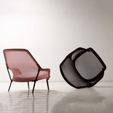 Vitra Slow Chair & Ottoman Black