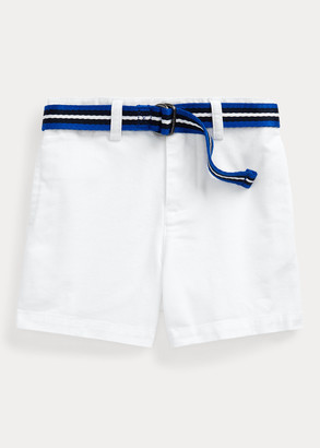 Ralph Lauren Belted Cotton Chino Short