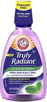 Arm & Hammer Truly Radiant Clean & Fresh Rinse, Clean Mint, 16 Fluid Ounce (Pack of 6)