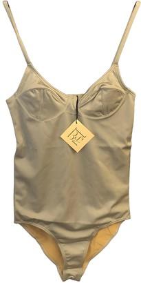 Base Range Grey Lycra Swimwear for Women