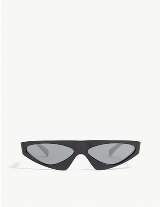Alain Mikli x Alexandre Vauthier A05044 Josseline irregular-frame sunglasses
