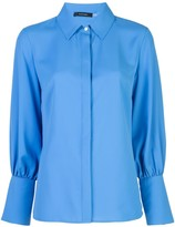 Natori oversized cuffs shirt