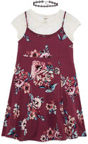Arizona Floral Slip Dress - Girls' 7-16 and Plus