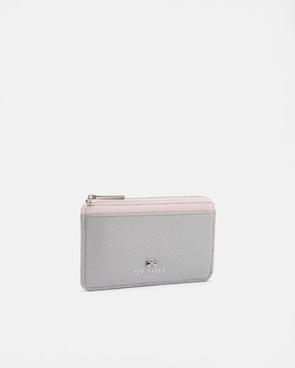 Ted Baker LOTTA Bow detail leather card holder