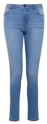 Dorothy Perkins Womens Blue Light Wash 'Ellis' Slim Fit Denim Jeans, Blue