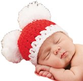 Mud Pie Baby Christmas Pom-Pom Hat