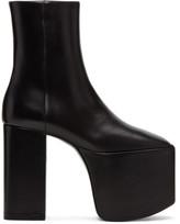 Balenciaga Black Platform Boots