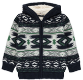 George Aztec Lined Hooded Cardigan