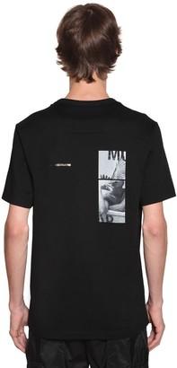 Juun.J Printed Cotton Jersey T-Shirt