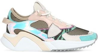 Philippe Model Eze Leather & Mesh Sneakers