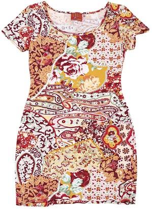 Kenzo Jungle Multicolour Cotton Dresses